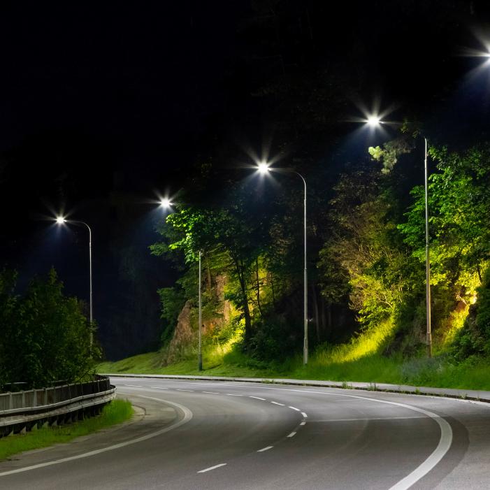 riqualificazione<br /> a led impianti pubblica illuminazione